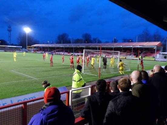 A bonkers game in West Sussex - Crawley Town v MK Dons. I've never laughed so much during a game of football.