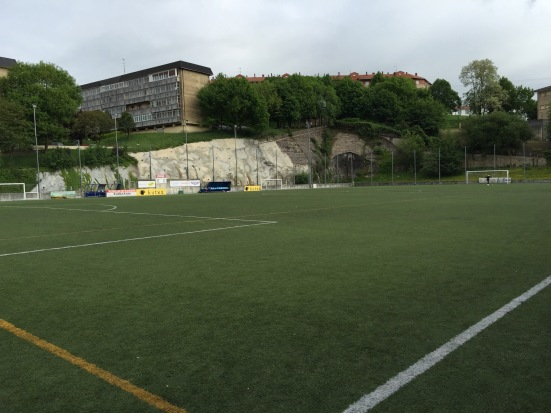The artificial surface of Campo Don Bosco