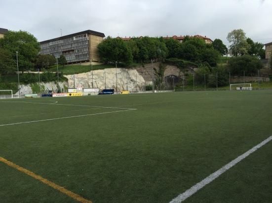 The artificial surface of Campo Don Bosco