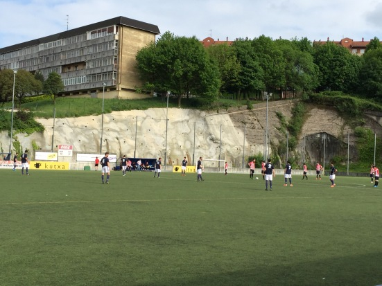 Pasaia start the second-half