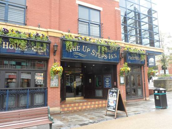 The Up Steps Inn - Oldham's Wetherspoons.