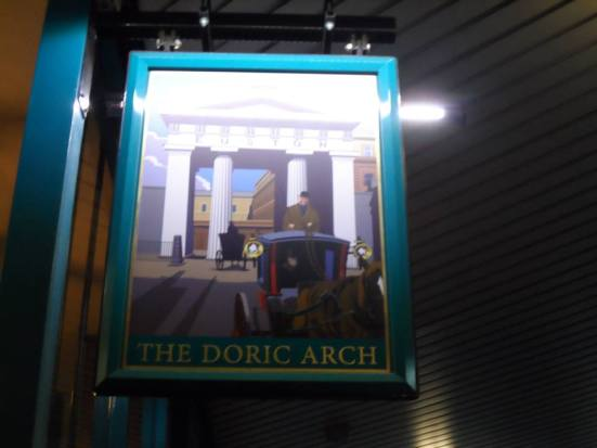 Doric Arch - Lost Boyos London HQ.