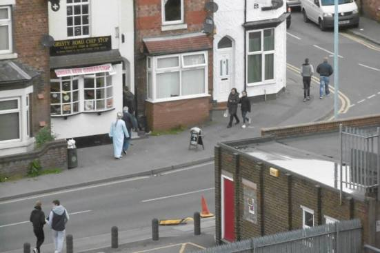 I spotted the Northern Irish sheik sneaking off to the chip shop before the final whistle.
