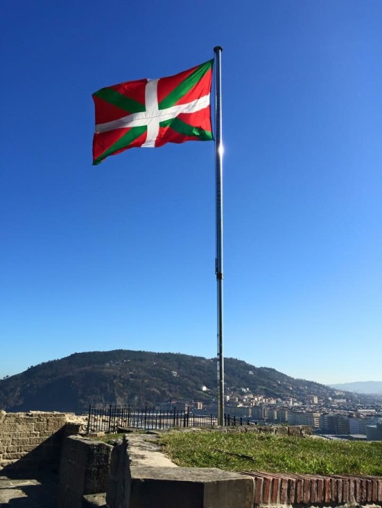 Ikurriña - the Basque flag
