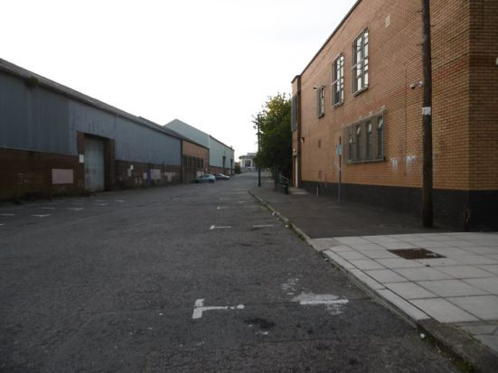 Our walk home through the industrial estate to the city centre.