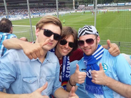 My new Stuttgart Kickers friends.