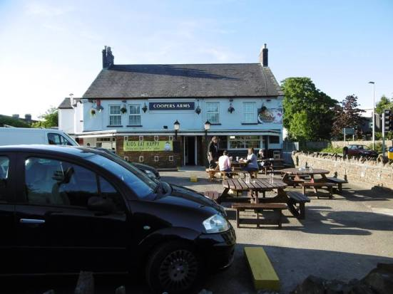 The Coopers Arms - the scenes that would unfold in here...