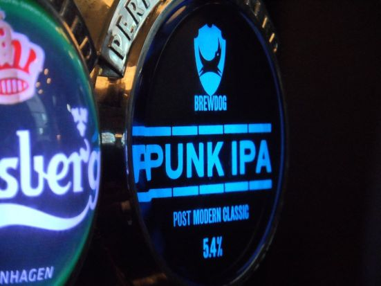 Punk IPA in The Rocket.