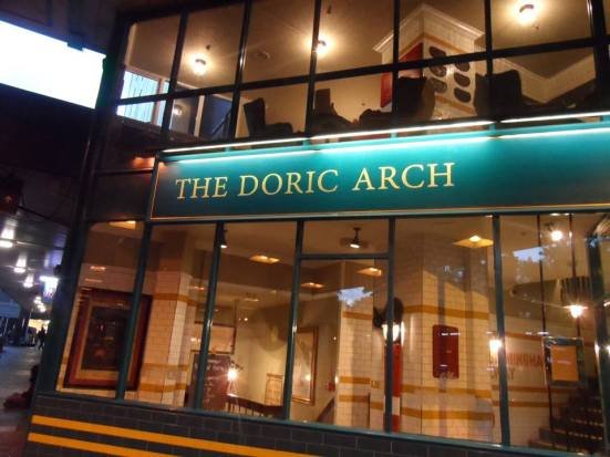 Lost Boyos HQ next to Euston station: Doric Arch.