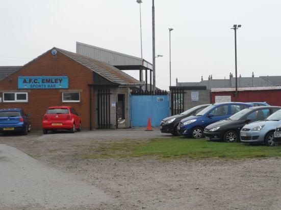 AFC Emley - The Welfare Ground.