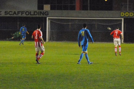 St. Helens take the lead (photo courtesy of Paul Moran).