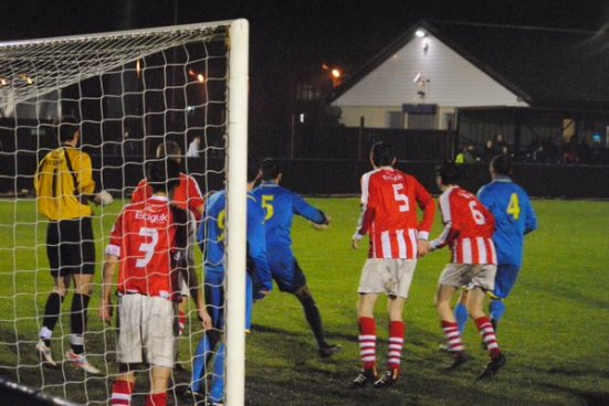 Match action (photo courtesy of Paul Moran).