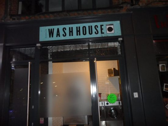 The Wash House from the outside - I'm not saying where it is though.