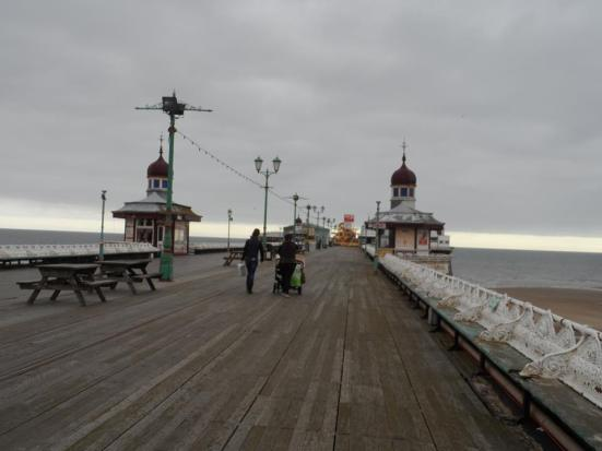 On the North Pier.