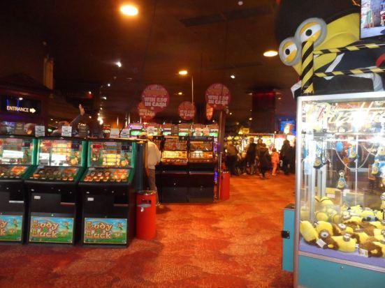 Arcade time.