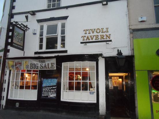 What a pub. Tivoli Tavern.