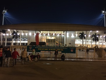 My Dinh National Stadium from the outside
